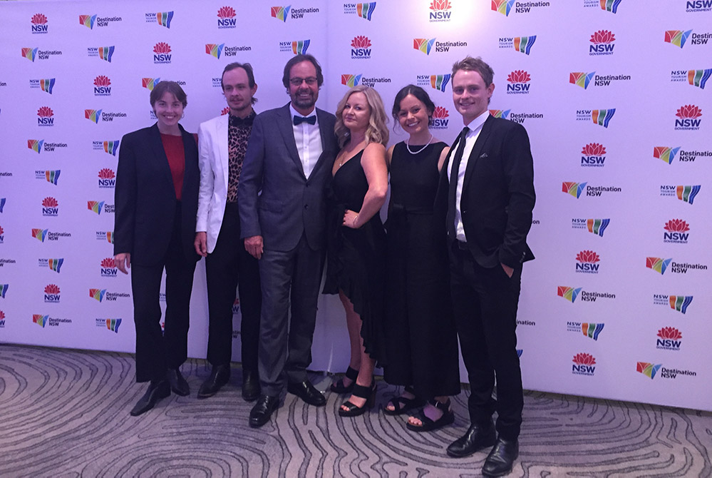 NSW Tourism Awards Event